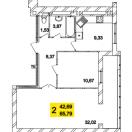 Залишилось лише 2  квартири у збудованому будинку!